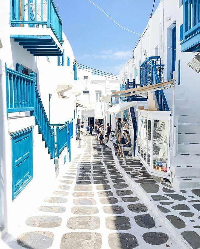 Welcome to Mykonos,  Greece 📷 Photo by : @tiramisumaria 📷 Share your favorite cities and include #cbviews ✔  Миконос , Греция