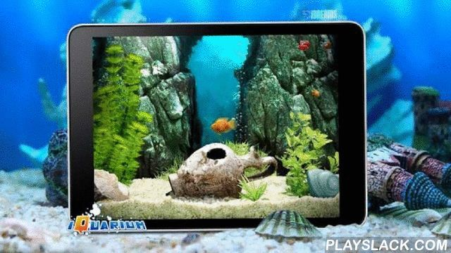 IQuarium - Virtual Fish  Android App - playslack.com , iQuarium - the personal relaxation companion you can keep in your pocket!We bring you a relaxing universe you will be happy to take with you everywhere you go!For everyday stress iQuarium is more than enough to relax. Chill out while watching your Parrot Chichlid fish swimming in its tank, feed it, play with it, interact with it or... do nothing - just listen to your own relaxing music and the air bubbles climbing up slowly to the water…