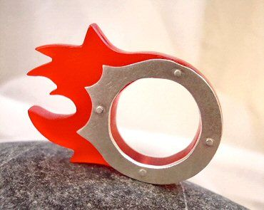 January 2012 | The Carrotbox modernPlexiglass Rings, Plexiglas Rings