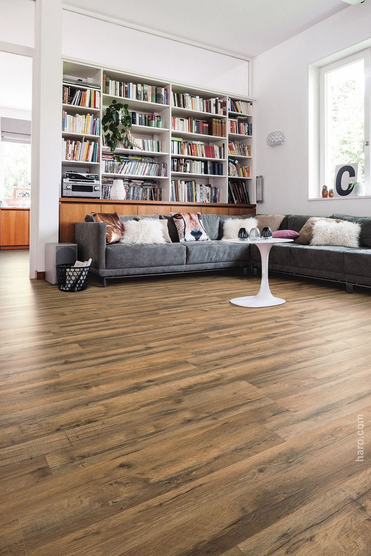 HARO Laminate floor Gran Via 4V Alpine Oak Grey authentic matt ...