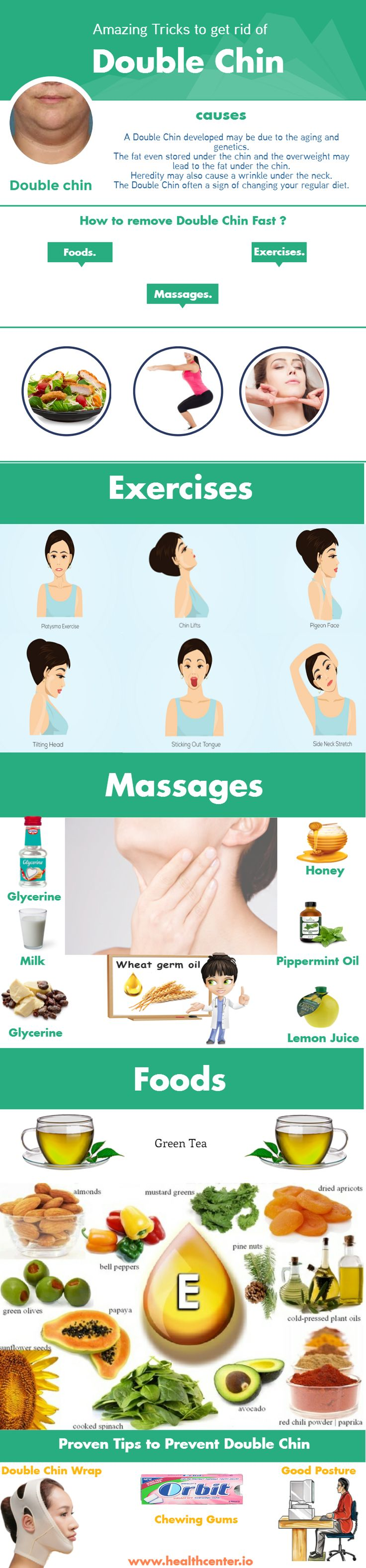 How to lose Double Chin? Reduce facial fat to Get rid of Double Chin. Best 10 Exercise for Double Chin Reduction. Fast & Easy Home Remedies for Double Chin.