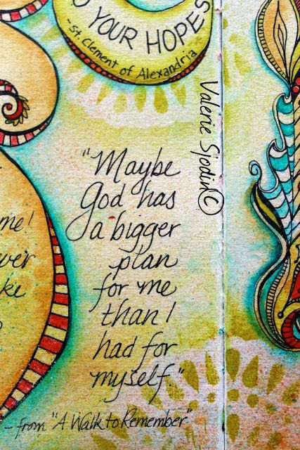 Visual blessings blog by Valerie Sjodin. Maybe God has a bigger plan