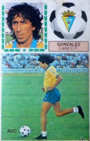 MAGICO GONZALEZ (Cádiz C.F. - 1985)