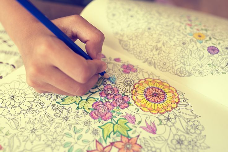"People Who Love Coloring Are Happier And More Creative - ""With all the benefits of coloring, it's time to grab some colored pencils and let your inner kinder-gartener get to work."""