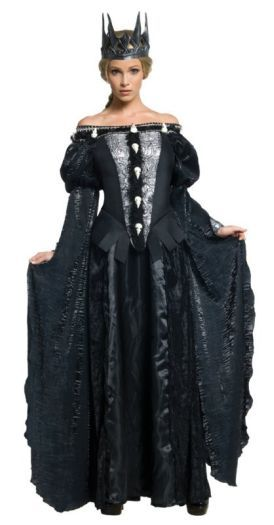 Ladies if you want a male perspective on what fancy dress costume to get..... GET THIS!!  Adult Evil Queen Ravenna Skull Dress Ladies Halloween Party Fancy Dress Costume