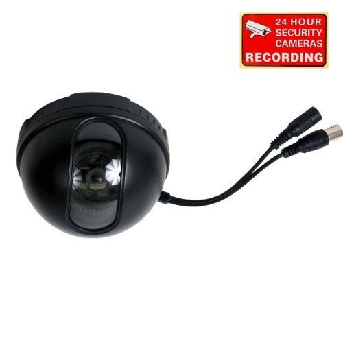 VideoSecu Dome Security Camera Color CCD DSP CCTV 3.6mm Wide Angle Lens for DVR Home Surveillance System with Bonus Warning Decal WA9 For Sale http://ift.tt/2nmruVB