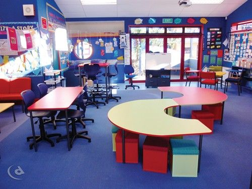 Classroom Furniture Library Learning Spaces Environments Centers Language School Organisation Design