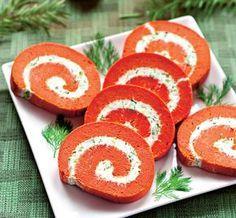 Un aperitiv deosebit pentru masa de Anul Nou este această ruladă de brânză. Dacă vrei să-ți impresionezi invitații, să nu-și lipsească rulada asta!