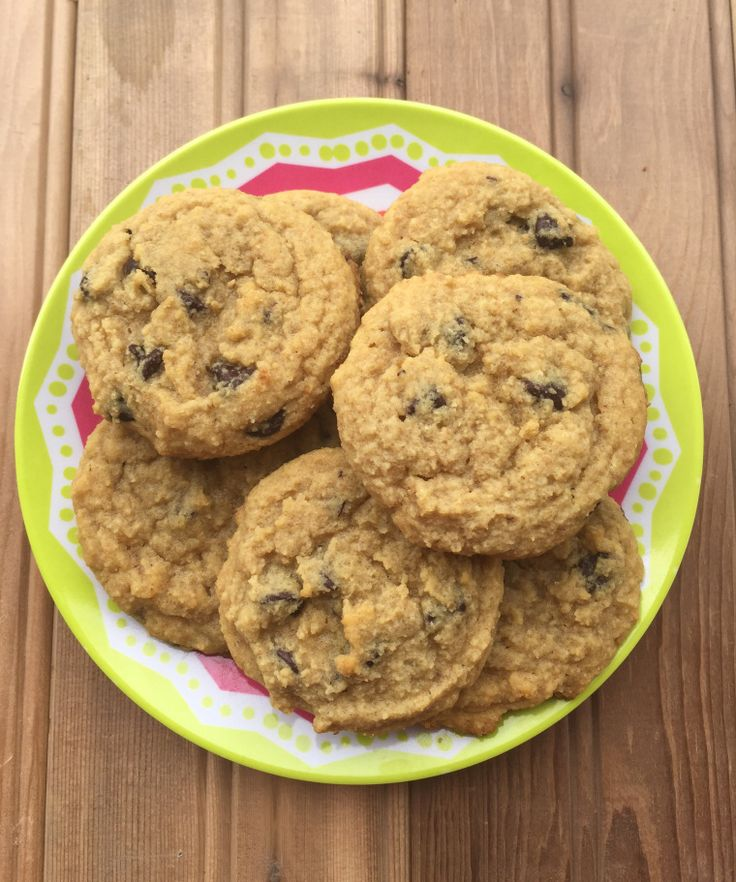 Favorite Low-Carb Chocolate Chip Cookies {THM-S, Low Carb, Sugar Free, Gluten Free, Dairy Free} – Trim Healthy Montana