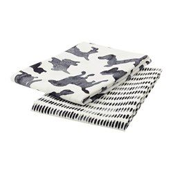 ikea sllskap dish towel with loop for hanging for easy storage when not
