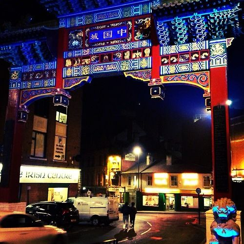 Chinatown - Newcastle upon Tyne, UK