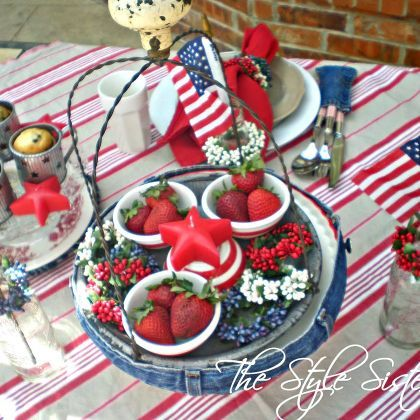 13 wonderful ideas of of july table decorations 13 cool ideas of of july table decorations with strawberry pie flower decor glass and united state flag