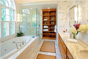 Transitional (Eclectic) Bathroom by Bjorn Bjornsson
