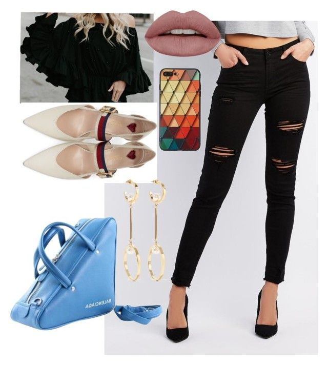 """accessories"" by sweetdollanjali on Polyvore featuring Refuge, Balenciaga, Gucci and Chloé"