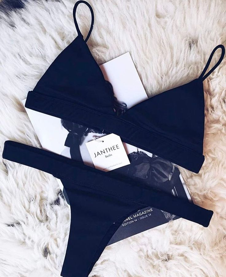 CLASSY Black This BOCAS Bikini will convert every full size bottom wearer into brazilian cut foreveeerr Try it out! online now! @cherielv