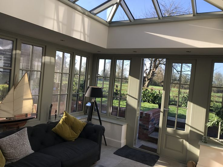 A Roof Lantern On An Orangery By Moore Inspiration
