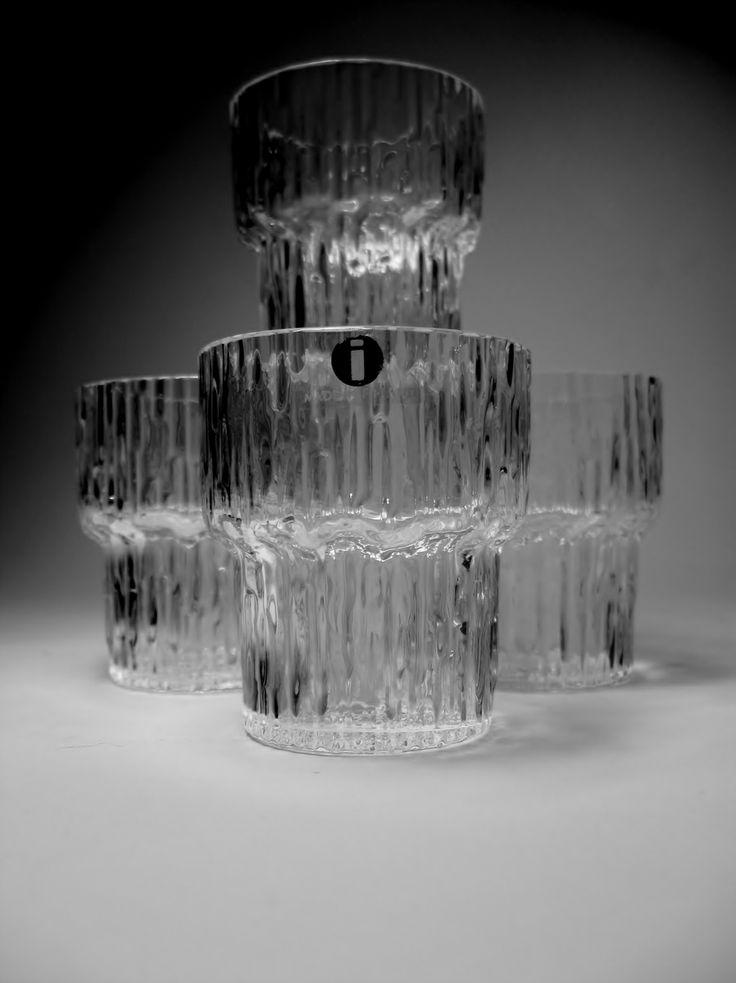 TAPIO WIRKKALA 1915-1985  MAKER:IITTALA  DESIGNER:TAPIO WIRKKALA  TYPE:CORDIAL GLASSES /SHOT GLASSES  SERIES:PAADOR  PERIOD:1960'S-1970'S  ORIGIN OF COUNTRY:FINLAND   Found at thrift !!