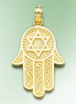 36 best jewish holidays images on pinterest charm jewelry star of amazon 14k gold religious necklace charm pendant jewish hand of god with aloadofball Image collections