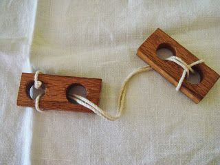 Ancient string puzzle (comes with instructions)