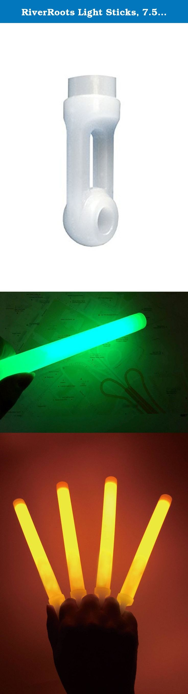 RiverRoots Light Sticks, 7.5In, (25 Pcs). Great for Safety, Halloween, Parties, Bath Tub Fun, Weddings, Bars & More.