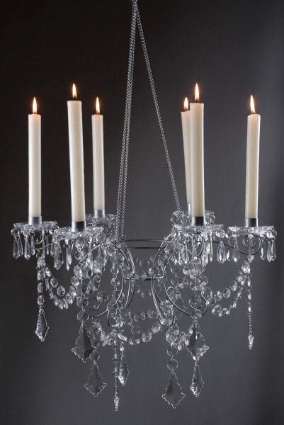 Top 19 ideas about candle chandeliers – Candle Crystal Chandelier