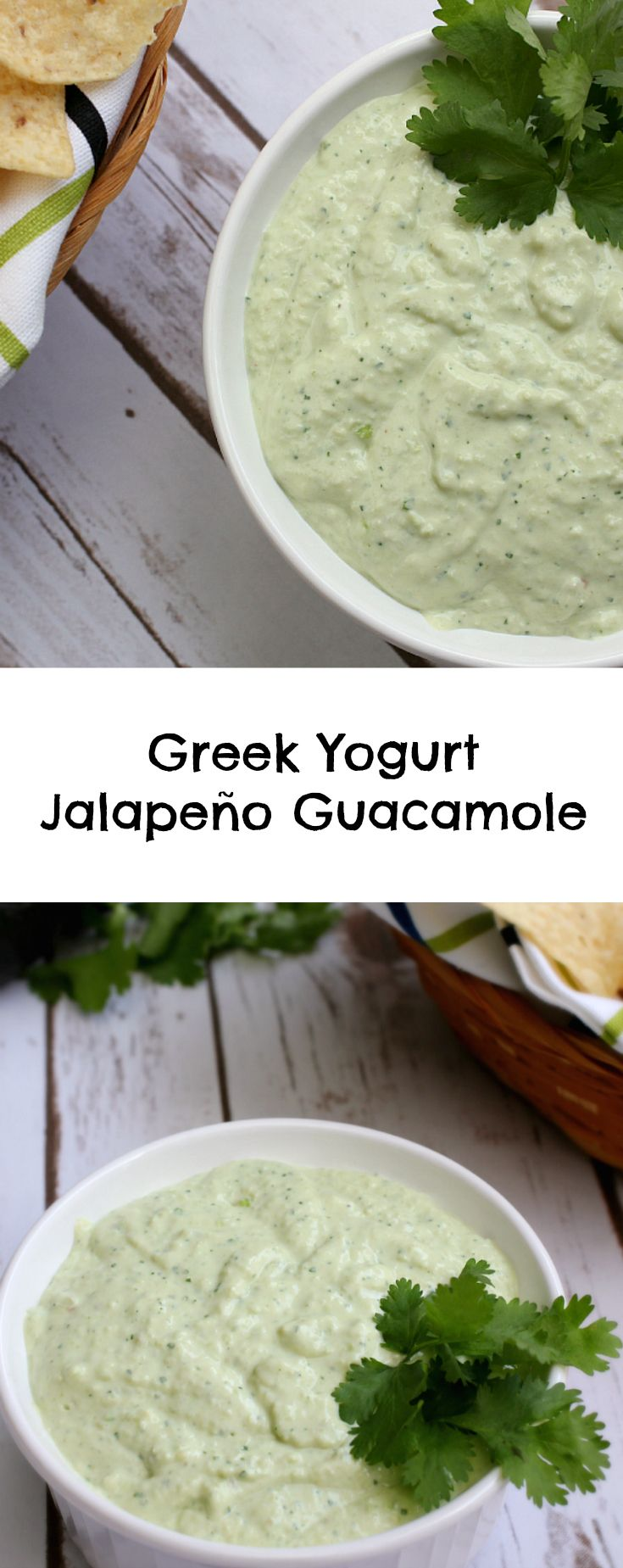 Greek Yogurt Jalapeño Guacamole is the best tasting guacamole recipe that I've had in a long time. The spicy taste is simply amazing.
