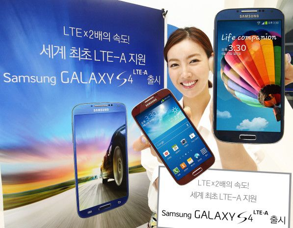 Samsung Galaxy S4 LTE-A: World's First LTE-Advanced Smartphone -  [Click on Image Or Source on Top to See Full News]