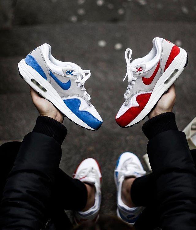 Nike Air Max 1 OG Blue or Red @tvlia