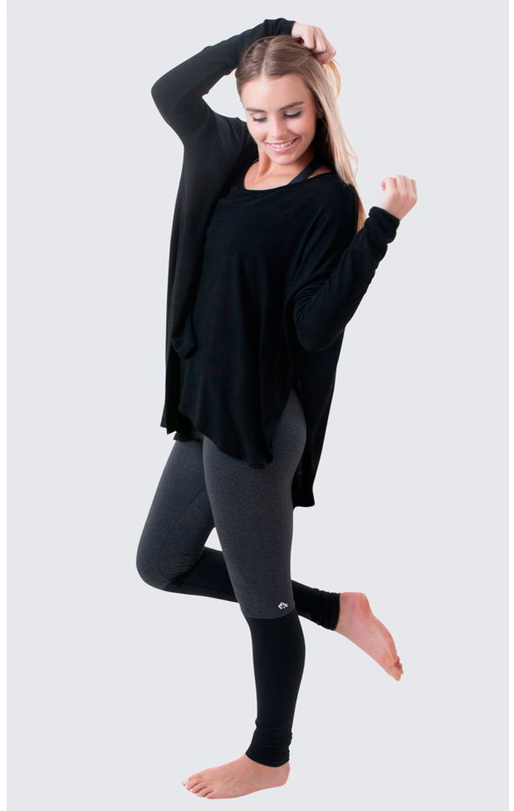 Sweet, simple, confortable is what the Jala Flashdance Legging and Poncho are all about. We love the legwarmer look of this uber chic legging. The perfect look for Fall 2015. Available at evolvefitwear.com