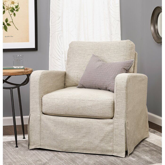 Thornaby Skirted Armchair Slipcovers For Chairs Armchair Living Room Chairs