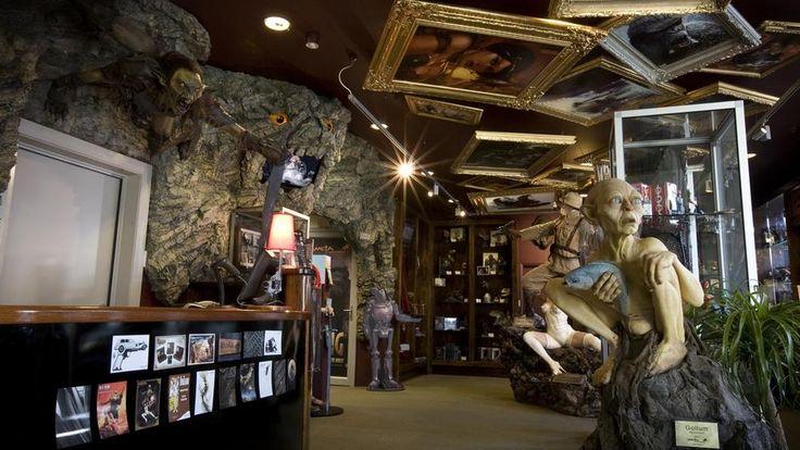 La cueva Weta, creada por el famoso director neozelandés Peter Jackson