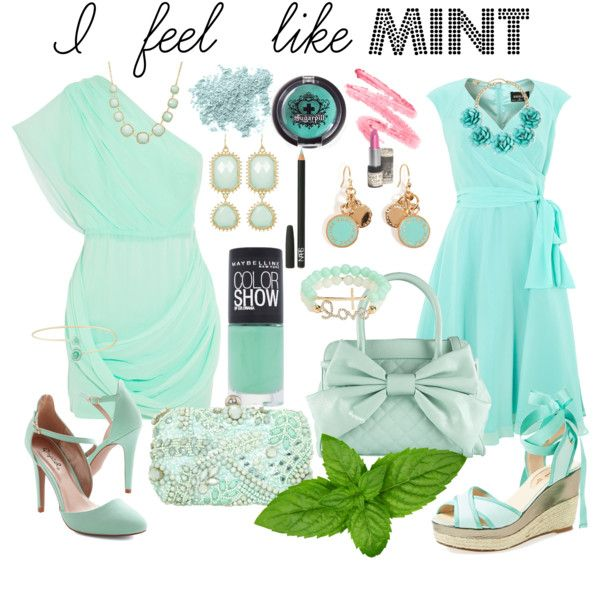 """Mint"" by timi-v on Polyvore"