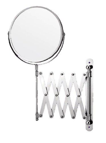 Extendable Shaving Mirror NOW This Stylish Chrome Plated Will Add A Touch Of Elegance To Your Bathroom