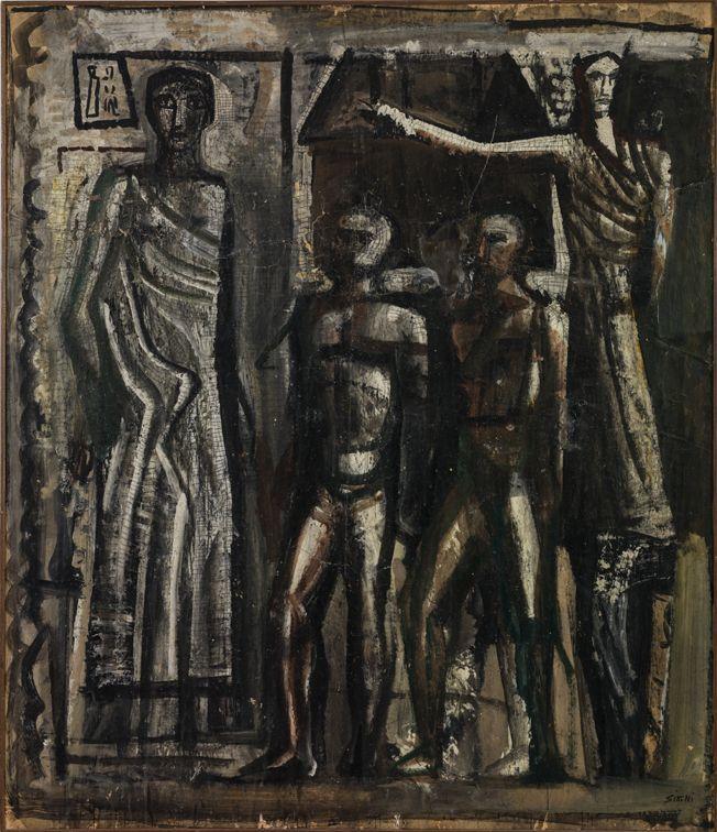 Composizione con figure (1938-39) Mario Sironi
