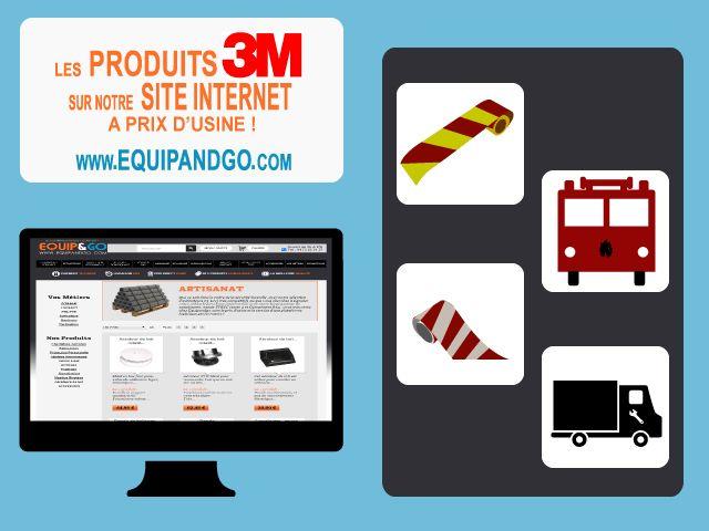 Retrouvez les produits @3M sur notre site internet : www.equipandgo.com