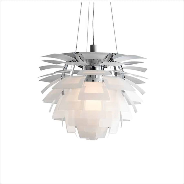The louis poulsen ph artichoke in glass from chandeliers from formal to fun