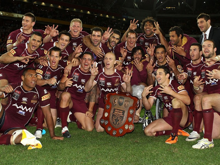 State of Origin Winners #NRL #Rugby #League #Origin #Maroon #Qld #Queensland #Queenslander