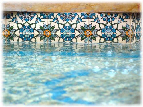 Pool Tile Ideas classic pool tile stone spotswood new jersey 1x1 pool tile Swimming Pool Tiles