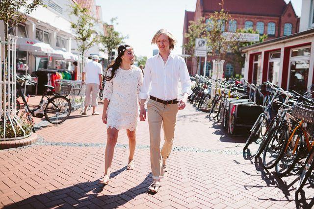 Intime Hochzeit auf Norderney im Badekarren | Hochzeitsblog The Little Wedding Corner