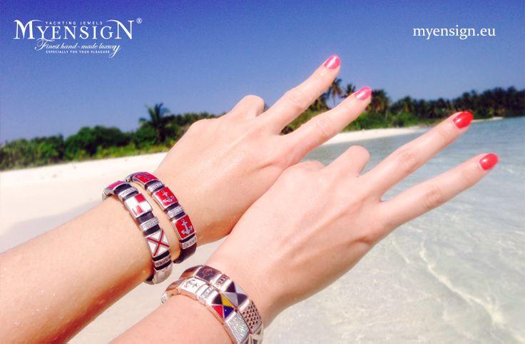 Having fun in the paradise.. www.myensign.eu