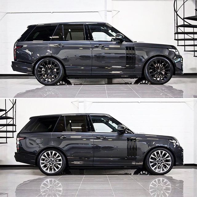 2018 Range Rover Supercharged: Carpathian Grey Range Rover