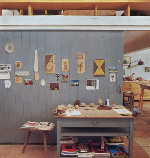 joan miro's studio.    Kind of think this is amazahling :)