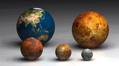 Size Comparison of Celestial Objects - saintjoe.edu