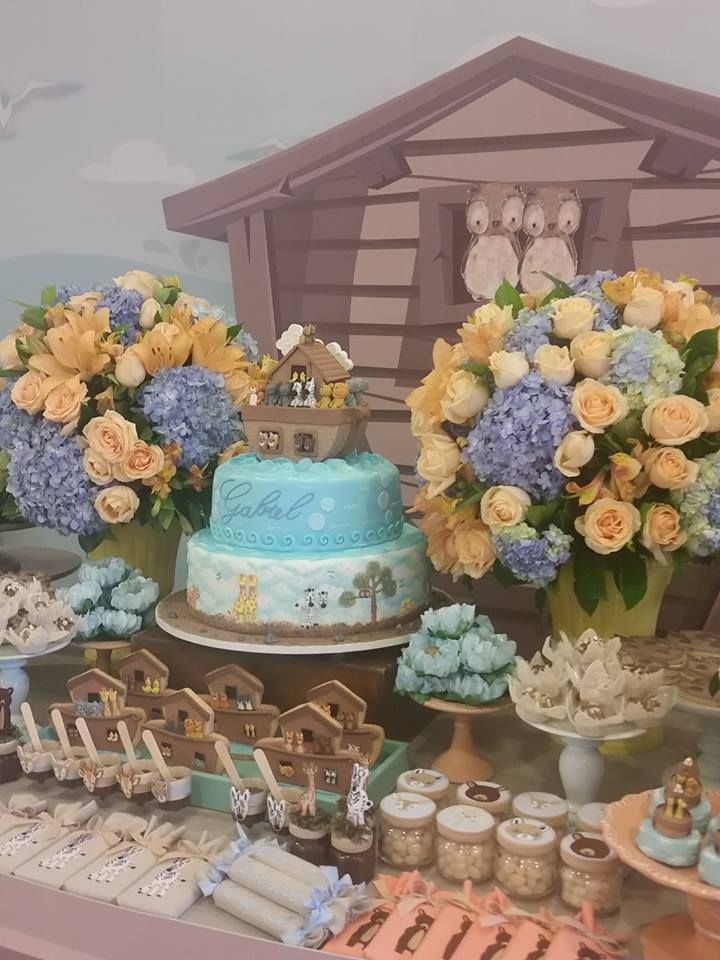 Amor a primeira vista por esta Festa Arca de Noé. DecoraçãoRachel Gomes. Lindas ideias e muita inspiração! Bjs, Fabiola Teles.              ...