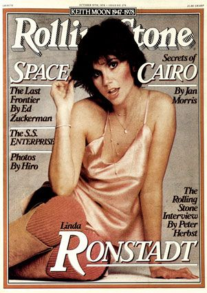Linda Ronstadt - I remember staring at this cover when it first came out & thinking how cute she was to be able to pull off this new pixie look.