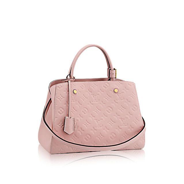 Montaigne MM - Monogram Empreinte Leather - Handbags   LOUIS VUITTON