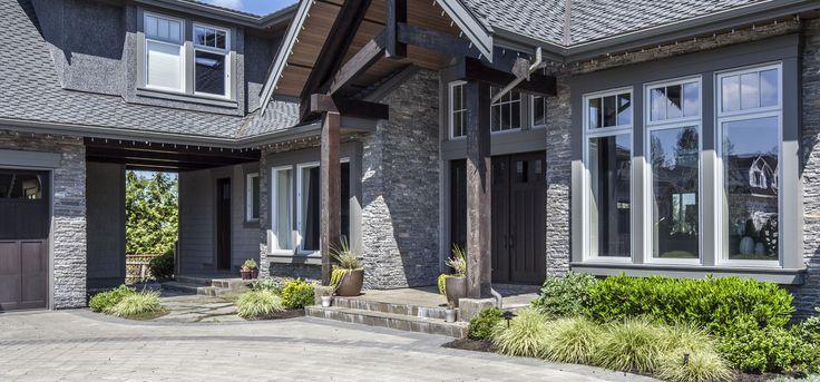 Home Exterior/Entrance: Westcoast, LEDGESTONE - Pangaea® Brand_Natural Stone Veneer