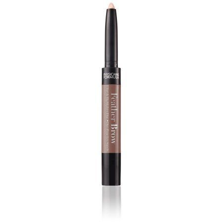 Physicians Formula Eye Booster Feather Brow Fiber & Highlighter Duo - Brunette, Brown