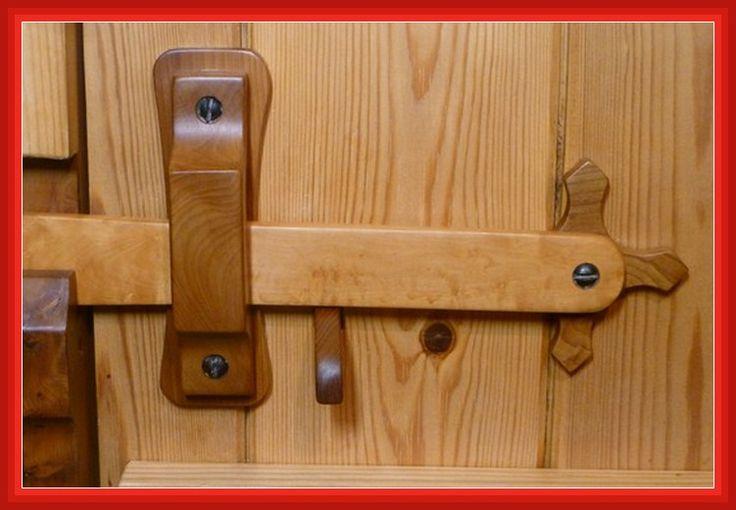 Homemade Door Locks Homemade Wooden Door Lock Design