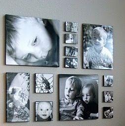 ... Canvas Muur Collage op Pinterest - Wandcollage, Zus Slaapkamer en